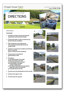 Chapel House Directions PDF